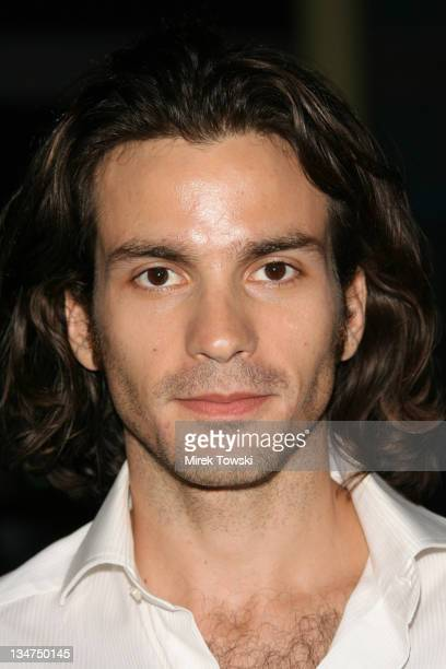 Santiago Cabrera during Haven Los Angeles Premiere Arrivals at Arclight Cinema in Hollywood California United States