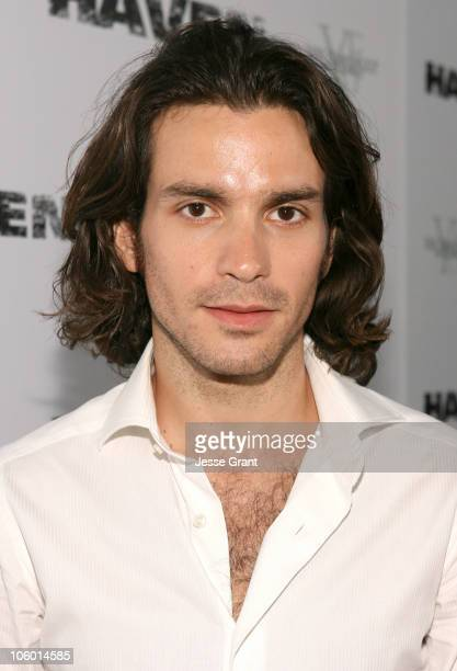 Santiago Cabrera during Haven Los Angeles Premiere Red Carpet at ArcLight in Hollywood California United States