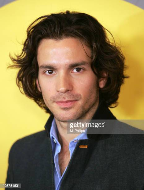 Santiago Cabrera during NBC's Winter 2007 TCA Press Tour AllStar Party Red Carpet and Inside at RitzCarlton in Pasadena California United States