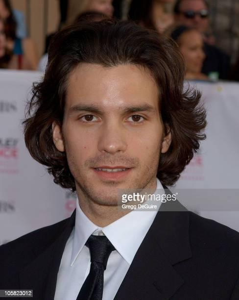 Santiago Cabrera during The 33rd Annual People's Choice Awards Arrivals at Shrine Auditorium in Los Angeles California United States
