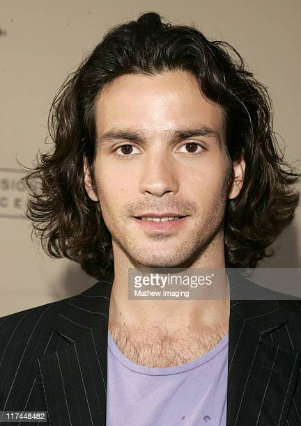 Santiago Cabrera during The Academy of Television Arts and Sciences Presents An Evening with Heroes Red Carpet at Leonard H Goldenson Theatre in...