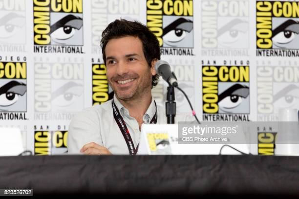 Santiago Cabrera during the Salvation Panel at ComicCon 2017 on Saturday July 22nd in San Diego Ca
