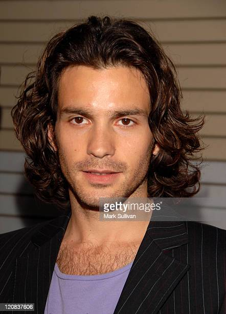 Santiago Cabrera during Wrap Party for NBC's Heroes Arrivals at Cabana Club in Hollywood California United States