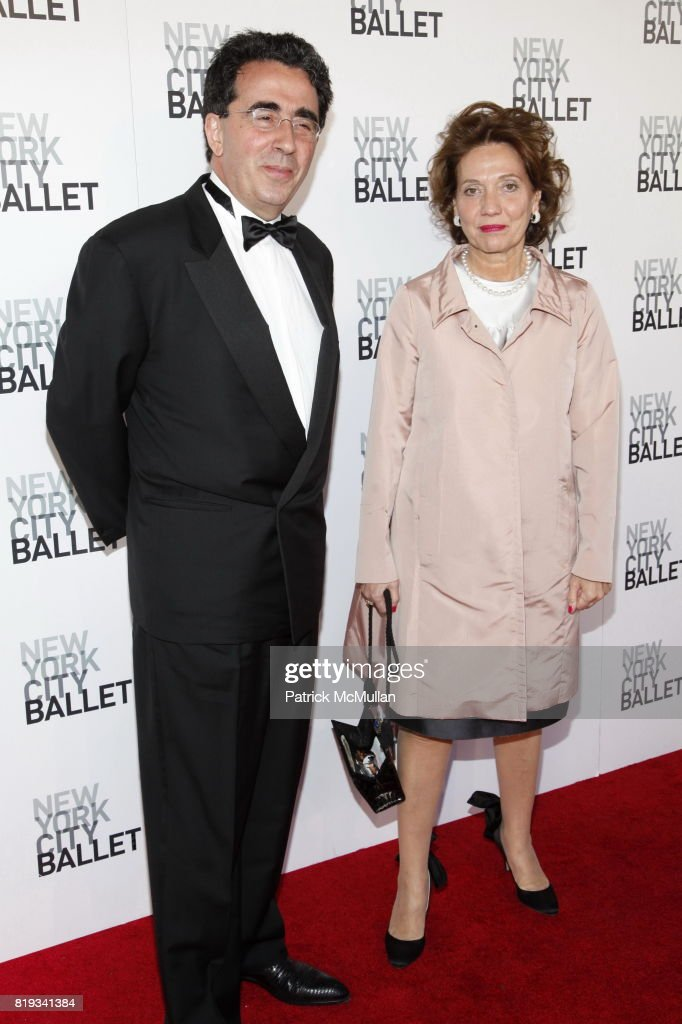 Santiago Calatrava and Robertina Calatrava attend NEW YORK CITY BALLET Spring Gala 2010 Arrivals at Lincoln Center on April 29, 2010 in New York.