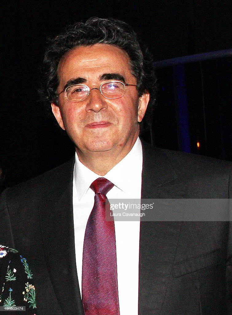Santiago Calatrava attends the National Museum off Mathematics 2015 Gala at Guastavino's on October 27, 2015 in New York City.