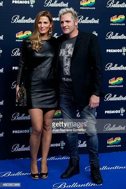 Santiago Canizares attends '40 Principales Awards 2014' at Palacio de los Deportes on December 12 2014 in Madrid Spain