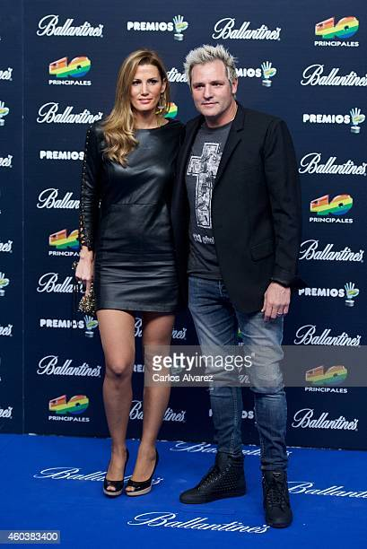 Santiago Canizares attends the '40 Principales' awards 2013 photocall at the Barclaycard Center on December 12 2014 in Madrid Spain