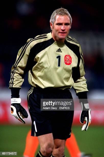 Santiago Canizares Spain goalkeeper
