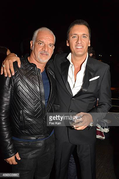 Santiago Casariego and Dany Brillant attend the 'For Ever Gentlemen 2' CD Launch at Le Paris boat on October 1 2014 in Paris France