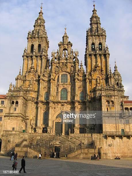 catedral de santiago & - santiago de compostela fotografías e imágenes de stock