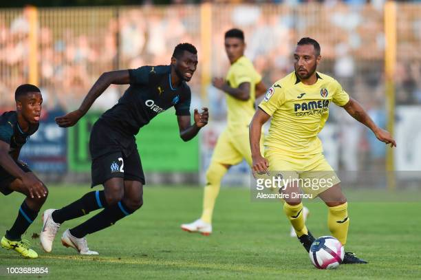 Santiago Cazorla of Villarreal during the friendly match between Marseille and Villarreal on July 21 2018 in Le Pontet France