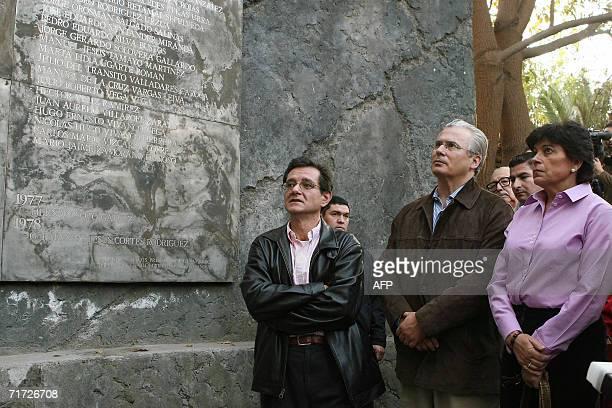 El juez Espanol Baltasar Garzon, quien encarcelo en 1998 en Londres al ex dictador chileno Augusto Pinochet , su esposa Rosario Molina y el Fiscal...