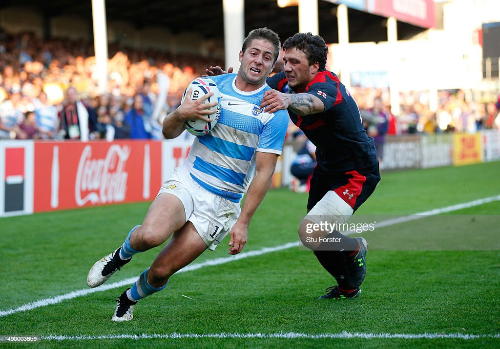 Argentina v Georgia - Group C: Rugby World Cup 2015 : News Photo