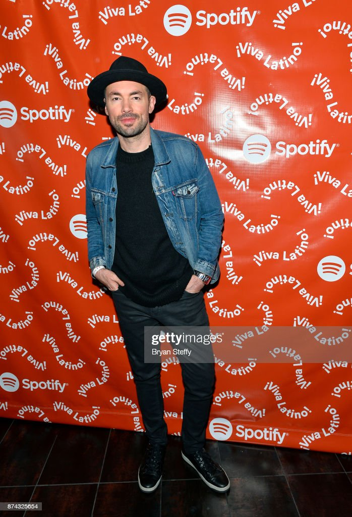 Santiago Cruz at Spotify Celebrates Latin Music and Their Viva Latino Playlist at Marquee Nightclub on November 14, 2017 in Las Vegas, Nevada.