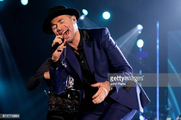 Santiago Cruz performs onstage during the 2017 Person of the Year Gala honoring Alejandro Sanz at the Mandalay Bay Convention Center on November 15...