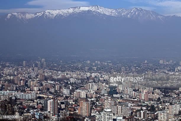 santiago de chile - santiago região metropolitana de santiago - fotografias e filmes do acervo