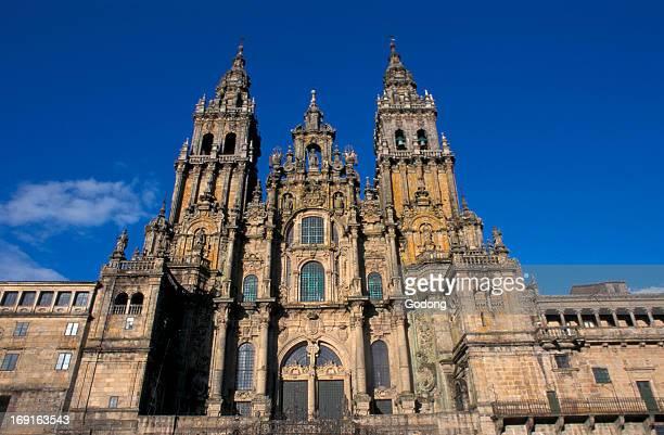 Santiago de Compostela cathedral facade