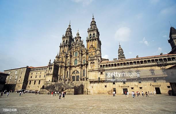 santiago de compostela cathedral - santiago de compostela stock pictures, royalty-free photos & images
