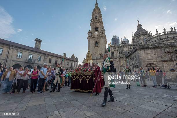 Santiago de Compostela cathedral, procession
