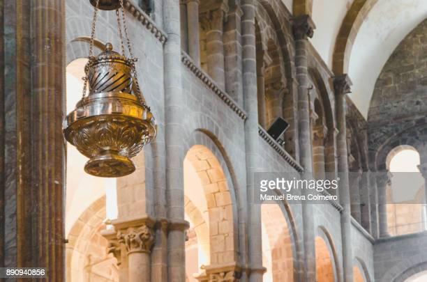 santiago de compostela - cattedrale di san giacomo a santiago di compostela foto e immagini stock