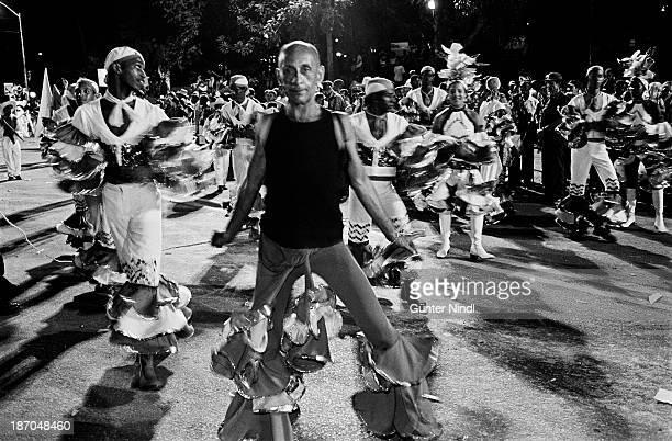 CONTENT] Santiago de Cuba Cuba July 23 2005 A group of carnival dancer perform at the Avenida Garzón in Santiago Carnival in Santiago de Cuba is one...