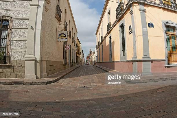 Santiago de Queretaro historic city center, Mexico