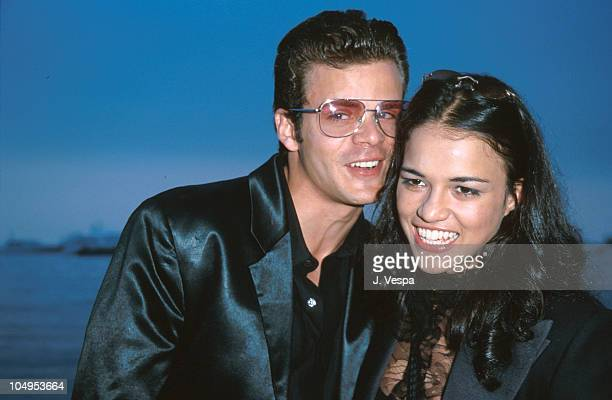 Santiago Douglas and Michelle Rodriguez during Cannes 2000 Girlfight in Cannes France