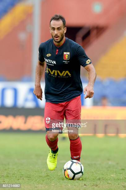 Santiago Gentiletti of Genoa CFC in action during the TIM Cup football match between Genoa CFC and AC Cesena Genoa CFC wins 21 over AC Cesena