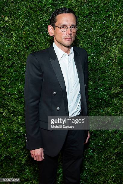 Santiago Gonzalez attends the Saks Downtown x Vogue event at Saks Downtown on September 8 2016 in New York City