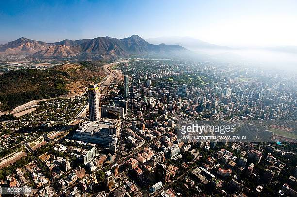 santiago - chile stock pictures, royalty-free photos & images