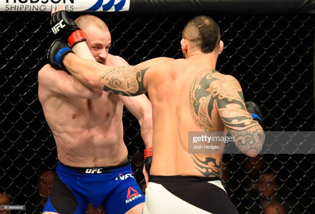 UFC Fight Night: Nelson v Ponzinibbio : News Photo