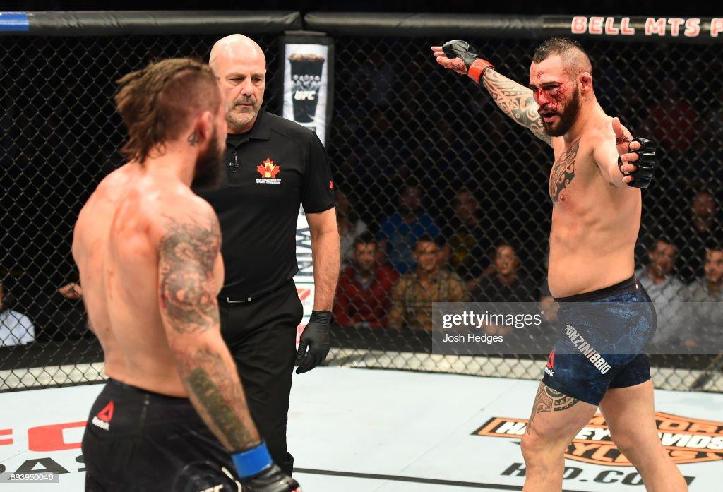 UFC Fight Night: Ponzinibbio v Perry : News Photo