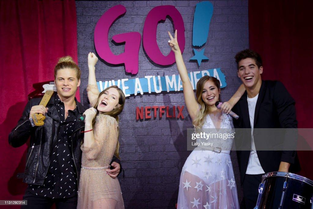 ARG: Netflix's 'Go! Vive a Tu Manera' Buenos Aires Premiere