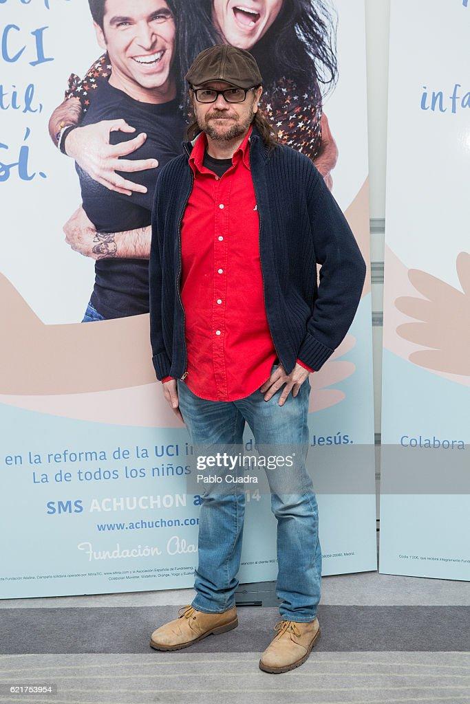'Un Achuchon Por La UCI Infantil Del Hospital Nino Jesus' Event in Madrid