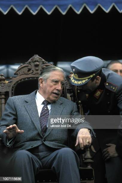 AUGUSTO PINOCHET CHILE Santiago The late military dictator General Pinochet ruled for 17 years In this time over 3000 people were tortured and...