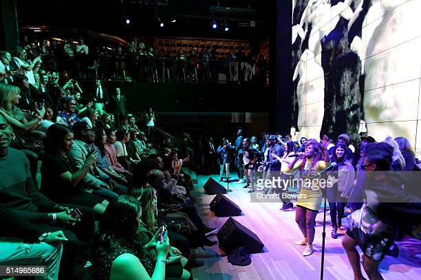 Santigold performs at Samsung 837 for SXSW@837NYC on March 11 2016 in New York City