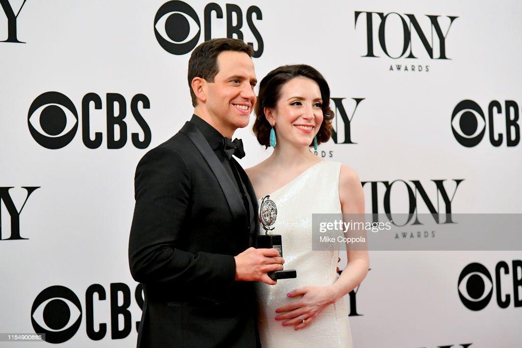 73rd Annual Tony Awards - Media Room : News Photo