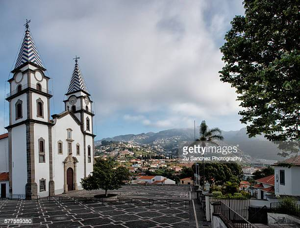 santo antonio church - funchal stock pictures, royalty-free photos & images