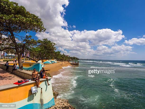 santo domingo waterfront, dominican republic - santo domingo dominican republic stock pictures, royalty-free photos & images