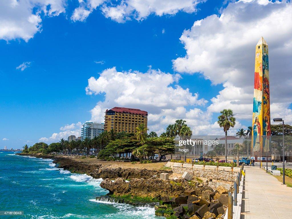 Santo Domingo waterfront, Dominican Republic : Stock Photo