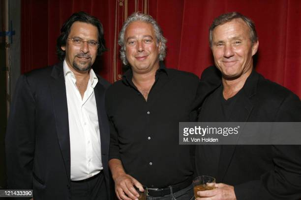 Santo D'Orazio Aby Rosen Ian Schrager during Allure's Linda Wells Hosts a Private Dinner for Kate Hudson at Ian Schrager's Gramercy Park Hotel at...