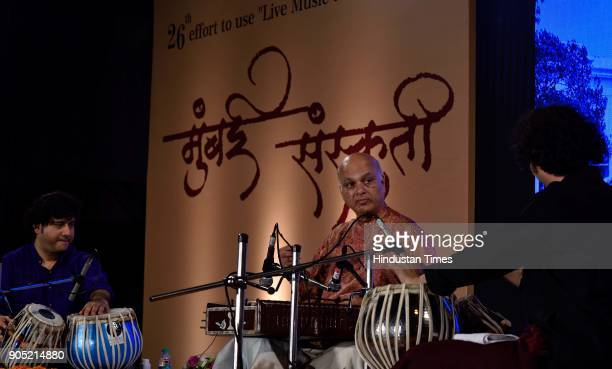Santoor maestro Pandit Satish Vyas performed together with two renowned Tabla Players Aditya Kalyanpur and Ojas Adhiya at Steps of Town Hall Asiatic...