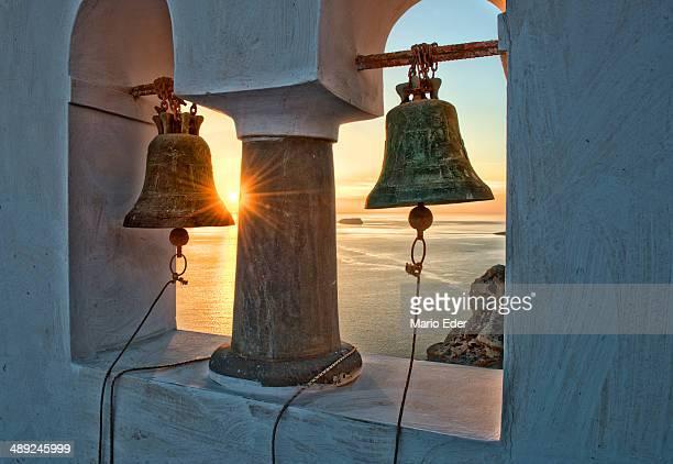 Santorini chapel bells