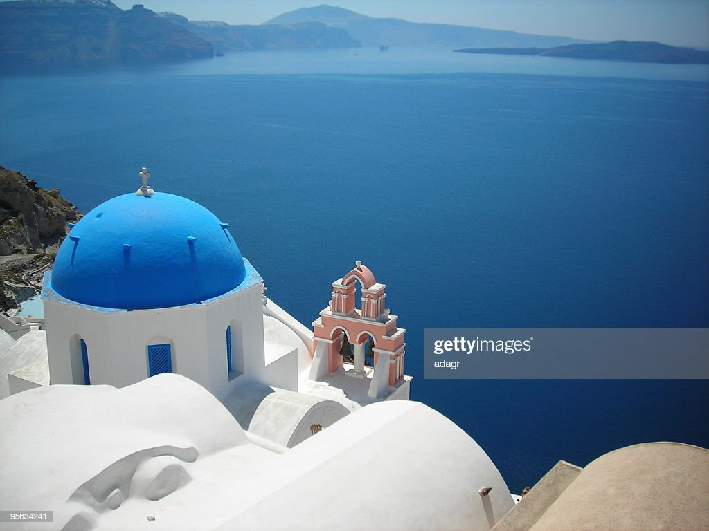 Santorini  Greece : Stock Photo