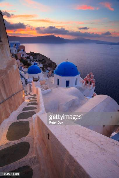 santorini, greece - cyclades islands stock pictures, royalty-free photos & images
