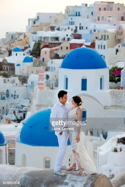 Santorini Island wedding shoot, Greece
