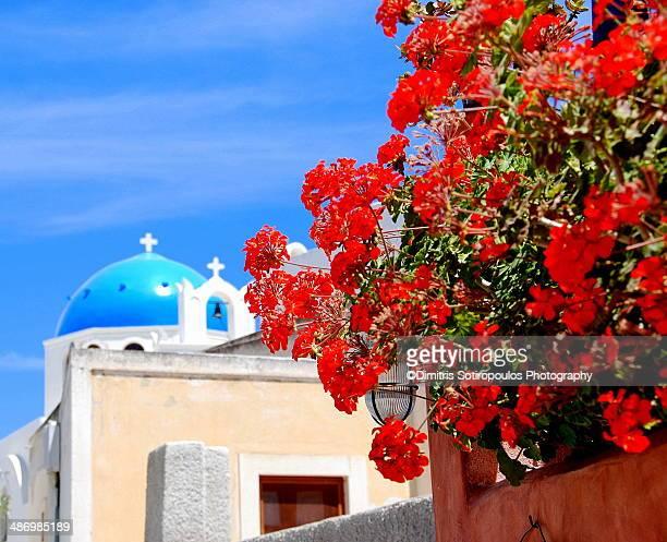 Santorini's Amazing Colours
