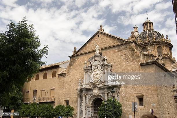 santos justo y pastor church, granada - arte stock photos and pictures