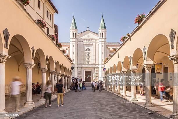 Santuario di Santa Rita in Cascia, Italy.