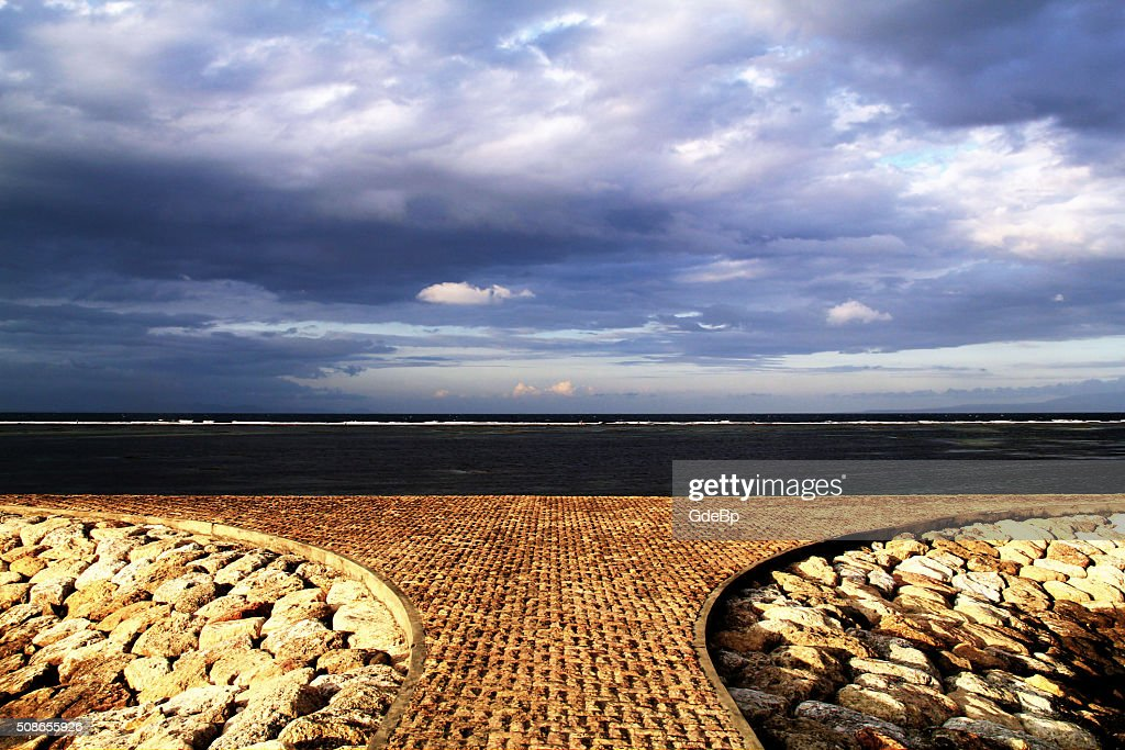 Sanur Beach : Stock Photo